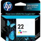 HP #22 Colour Ink Cartridge 170 pages