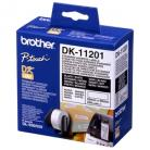 Brother DK11201 White Label - 29mm x 90mm - 400 per roll